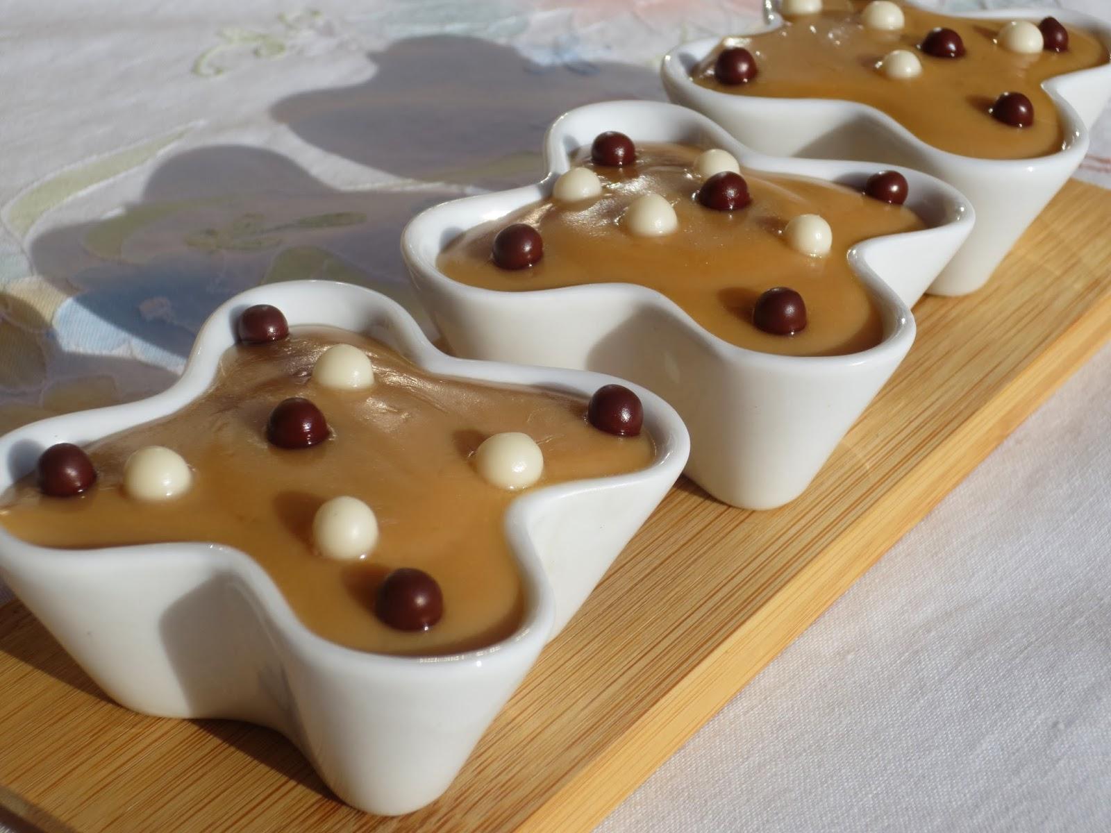 Natillas de dulce de leche