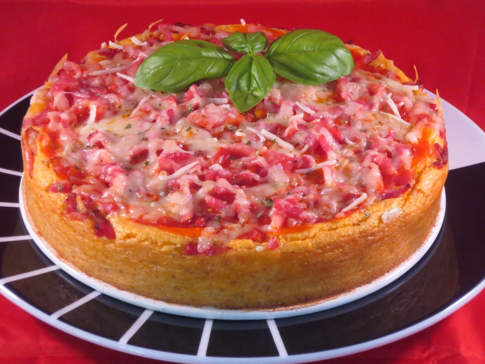 Cheescake de pizza