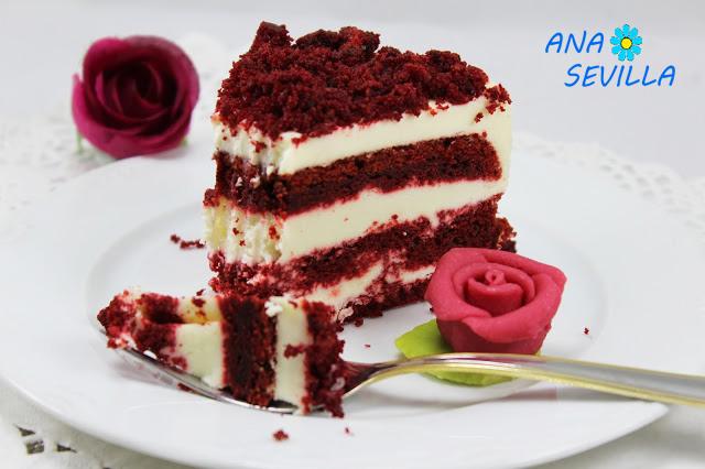 Tarta o helado Red- velvet