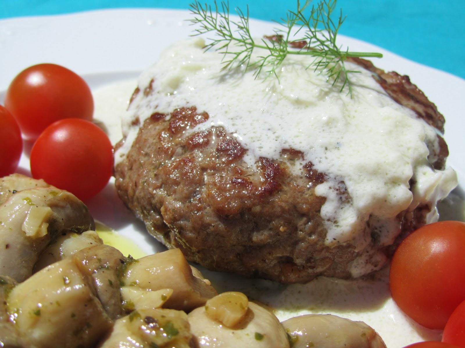 Salsa roquefort o de queso azul