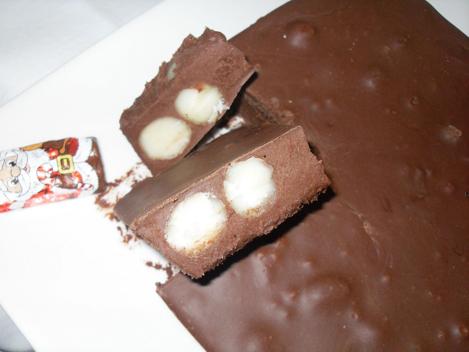TURRÓN DE CHOCOLATE DE MACADAMIA