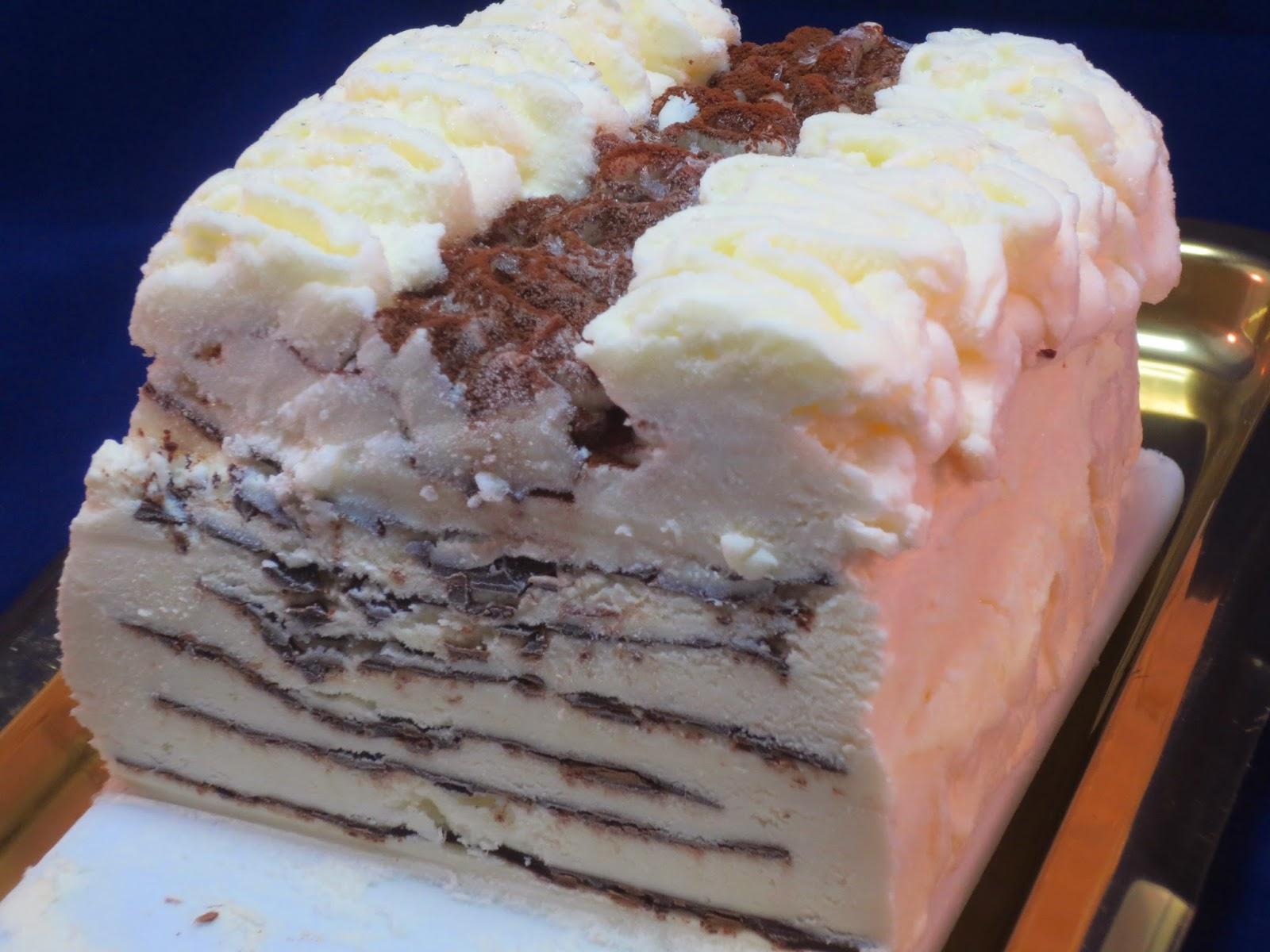 Tarta helada Contessa