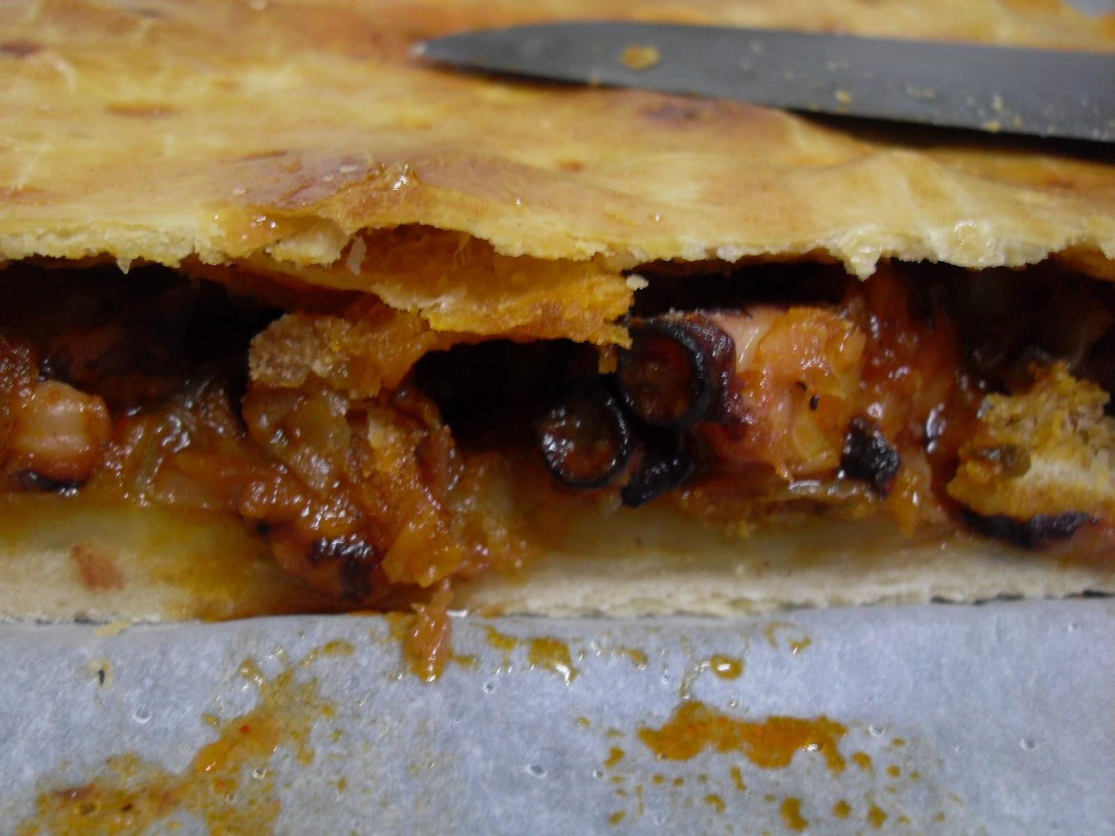 Empanada de pulpo Thermomix