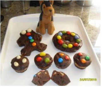 Brownies de galletas y chuches