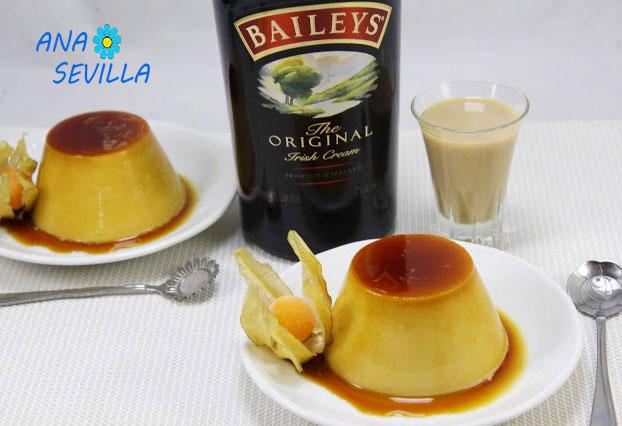Flan de Baileys