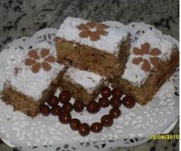 Bizcochitos de coco y chocolate