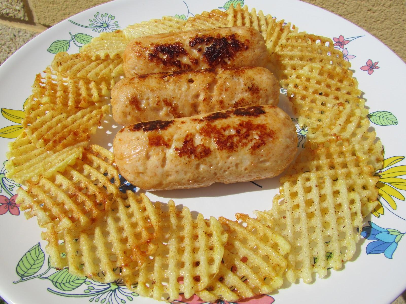 Chorizos de pollo o pavo