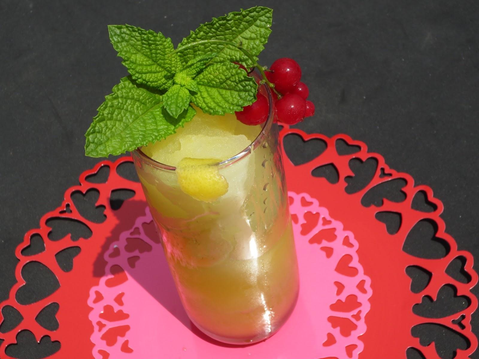 Sorbete de lima-limón