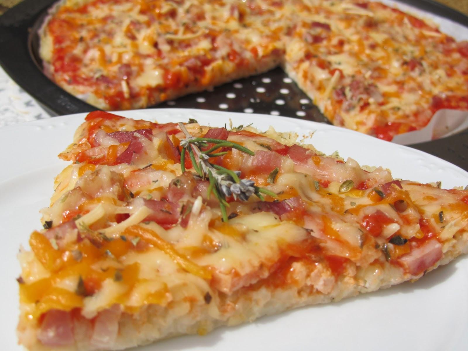 Pizza de arroz
