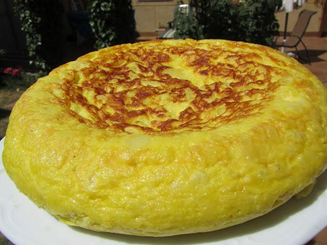 Tortilla de patatas (Casi sin aceite)