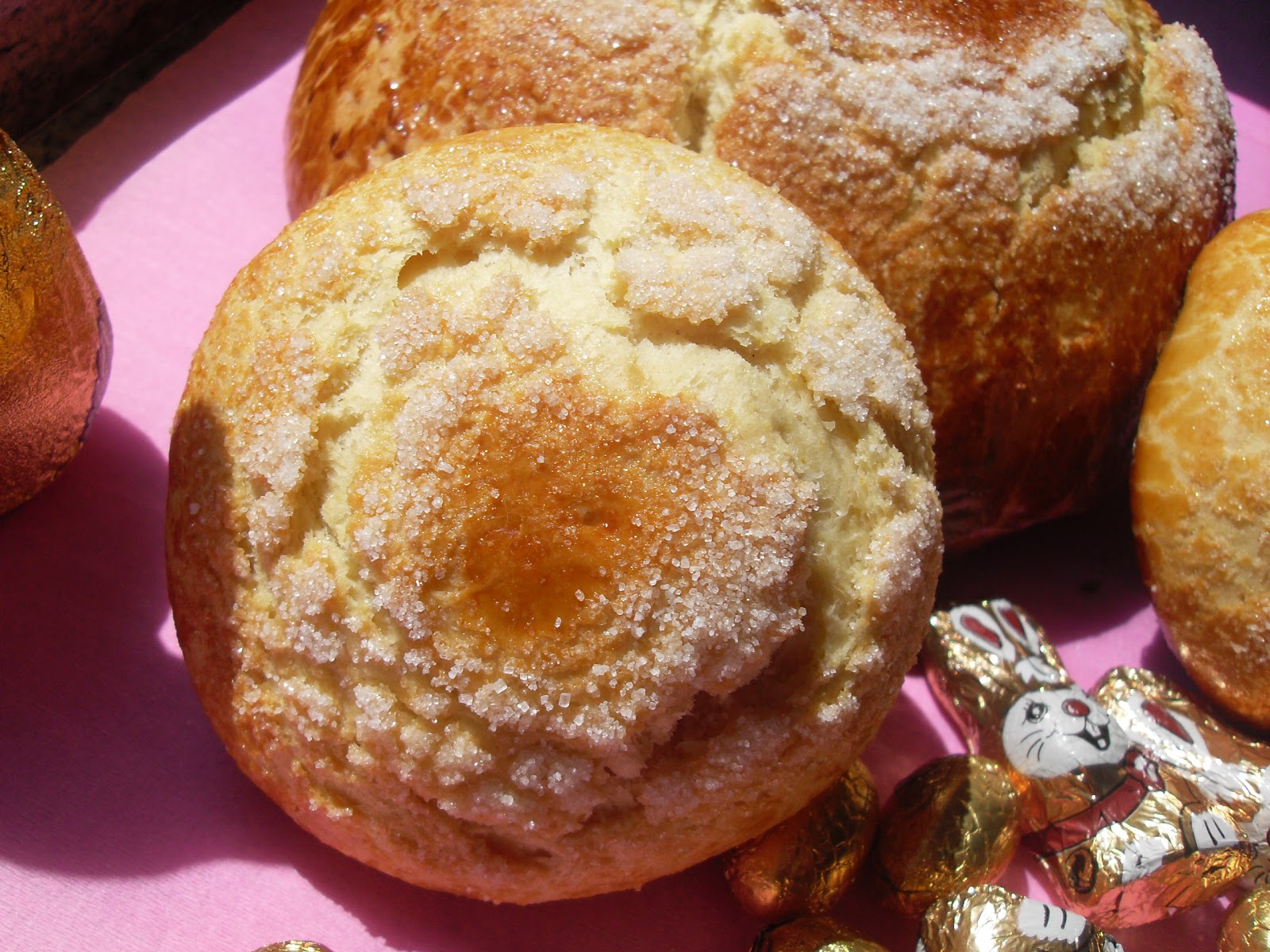 Pan quemao de Pascua (Toñas)