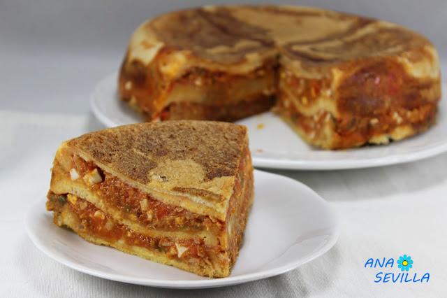 Sandwich de atún y tomate olla GM