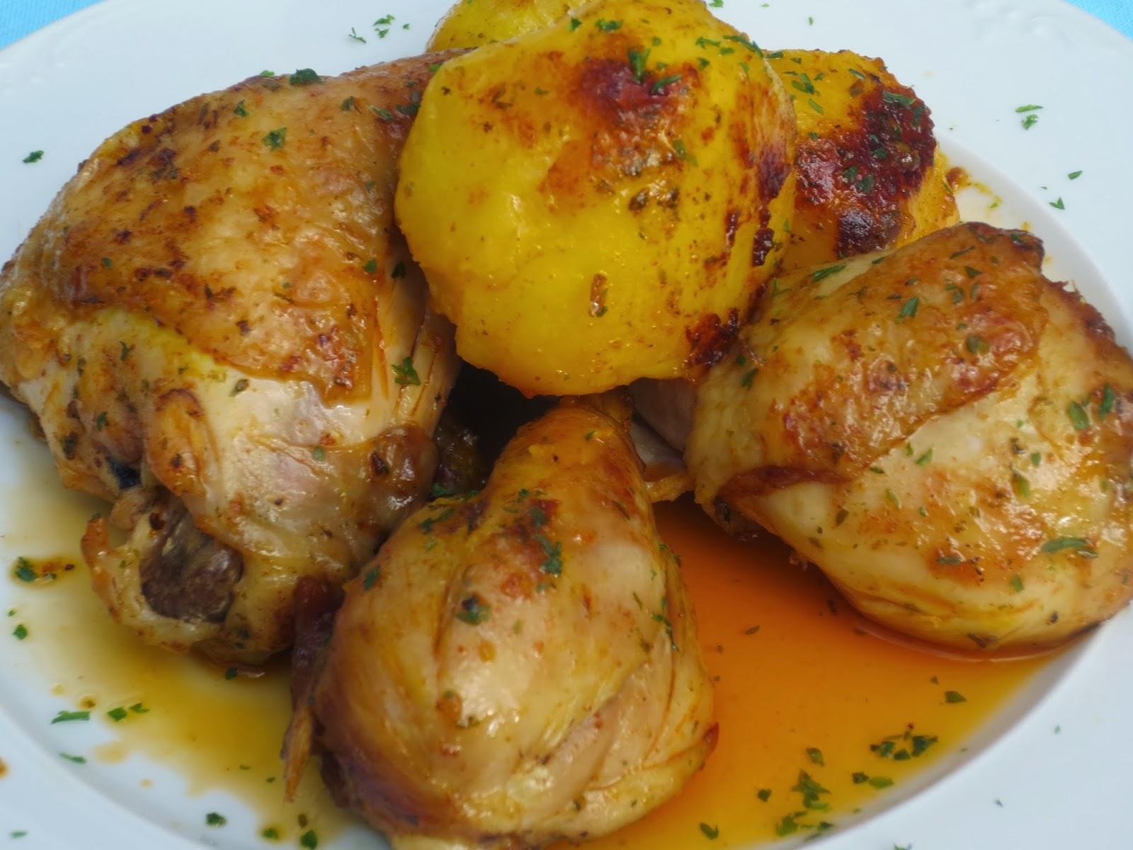 Pollo marroquí olla GM