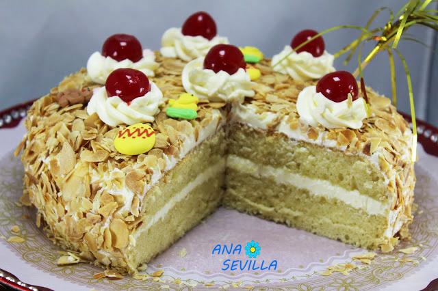 Tarta Sara (Mona de Pascua)