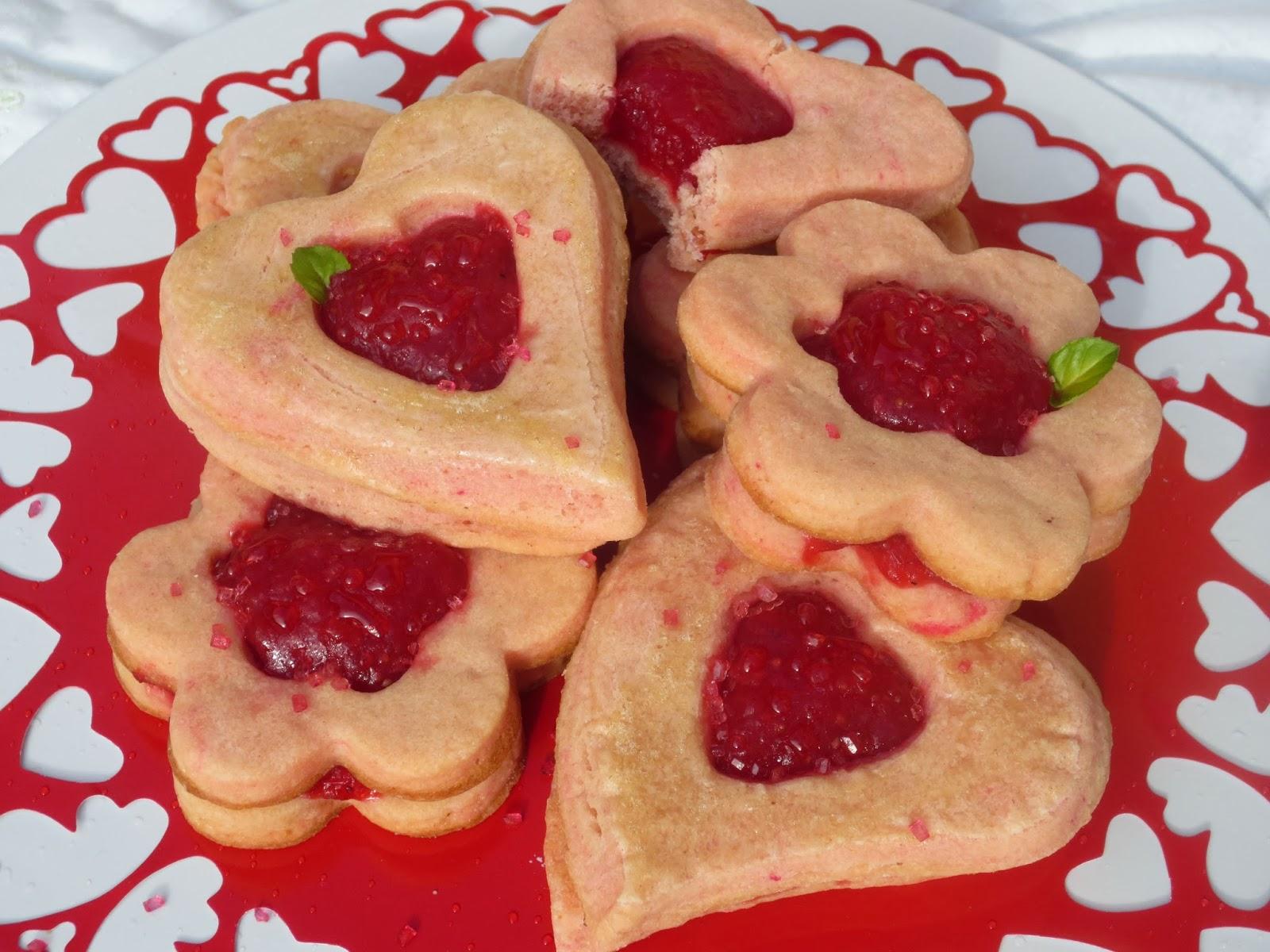 Galletas de mascarpone y fresa