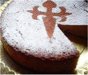 Tarta Santiago (estilo Loli y Ana )