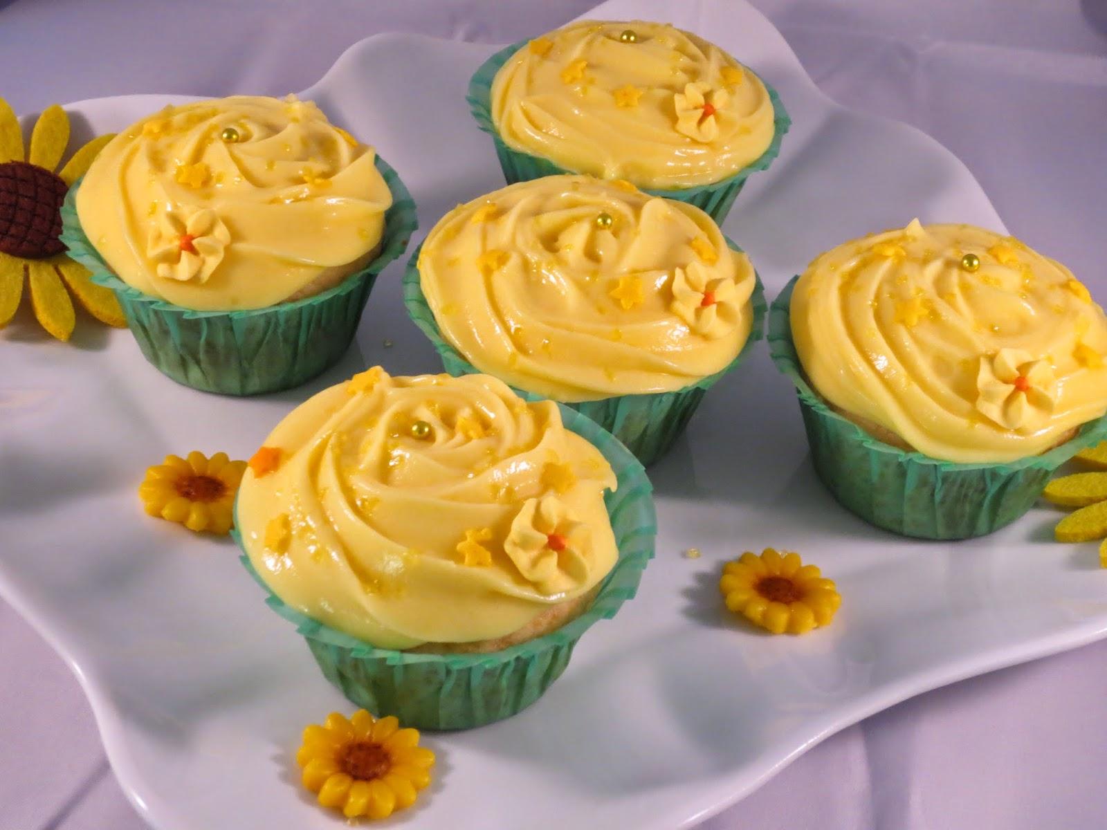 Cup cakes de limón