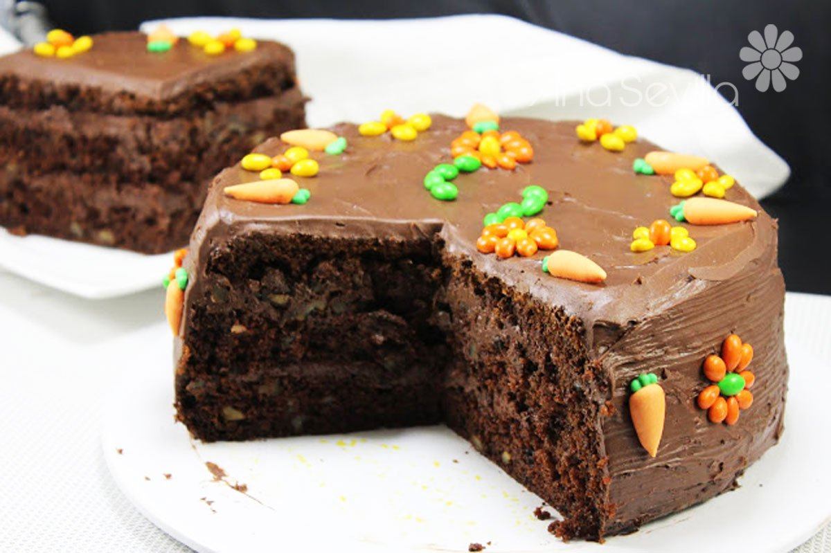 Carrot Cake De Chocolate Thermomix Juani De Ana Sevilla Recetas Thermomix Olla Gm Mambo Sana y deliciosa, la tarta de zanahoria es un rico postre para alegrar las comidas, mientras aportas una buena cantidad de nutrientes a la dieta. carrot cake de chocolate