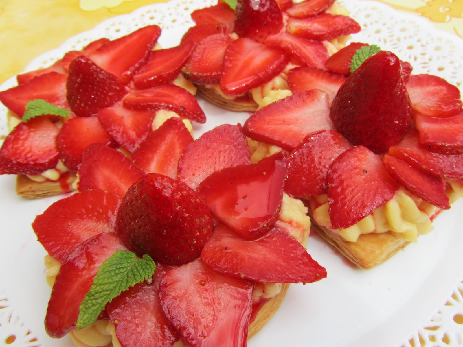 Tartitas de fresas