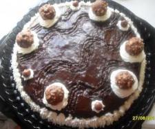 Tarta de chocolate a la crema de orujo