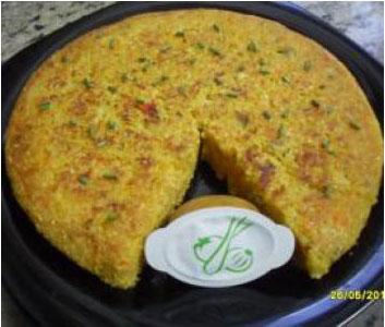 Tortilla vegetal sin huevos