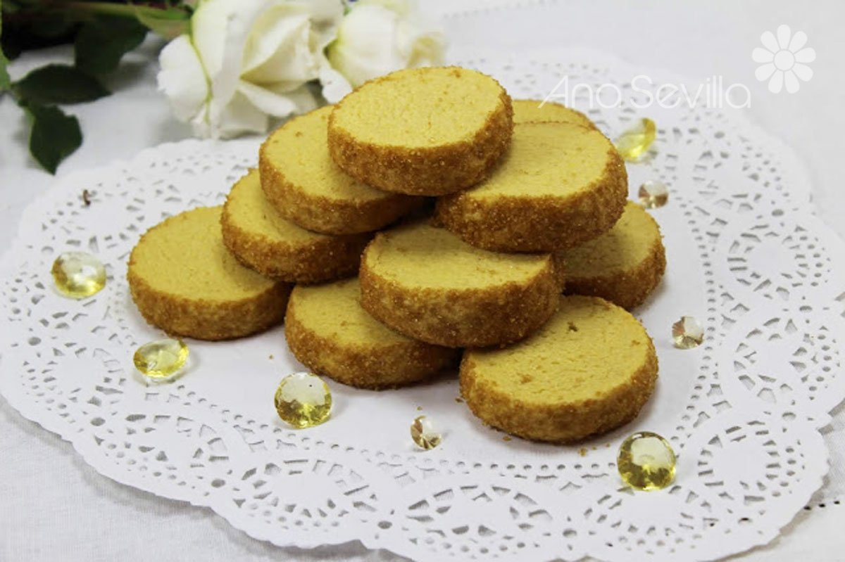Galletas diamante sablé