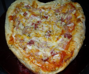 Pizza quiche rellena Thermomix