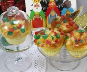 Muffins de los Reyes Magos