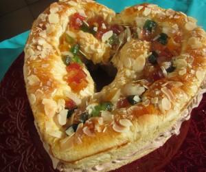 Roscón de Reyes corazón Thermomix