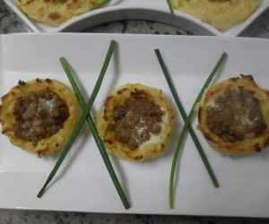 Nidos de patata Thermomix