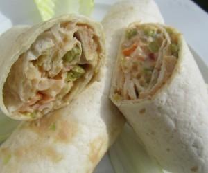 Tacos de ensaladilla de lechuga