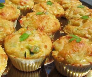Pastelitos de coca de verduras