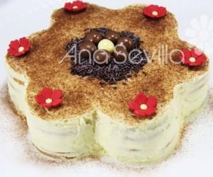 Tarta de galletas y mascarpone