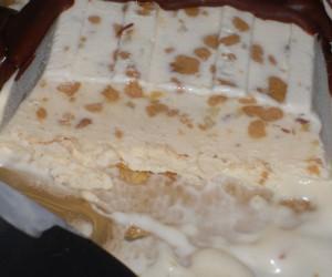 Biscuit helado de turrón Thermomix