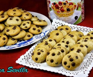Cookies integrales sin huevo