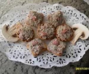 Mousse de champiñones