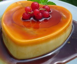 Tarta-flan de queso al caramelo