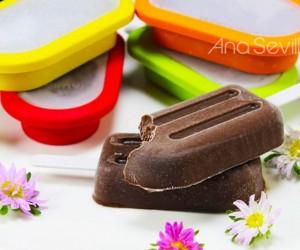 Polos de chocolate