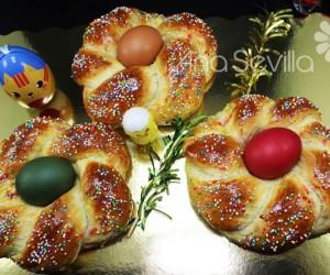 Rosca de Pascua italiana
