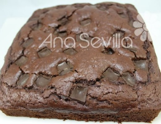coca de chocolate