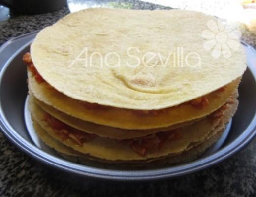Montar el pastel