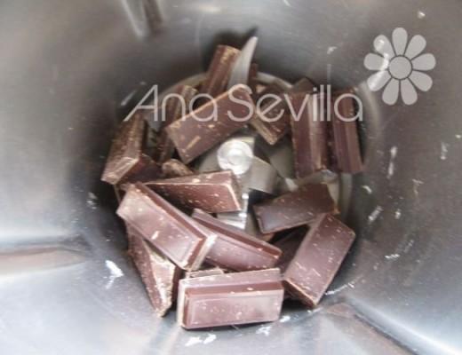 Rallar el chocolate