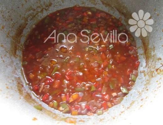 Triturar la salsa