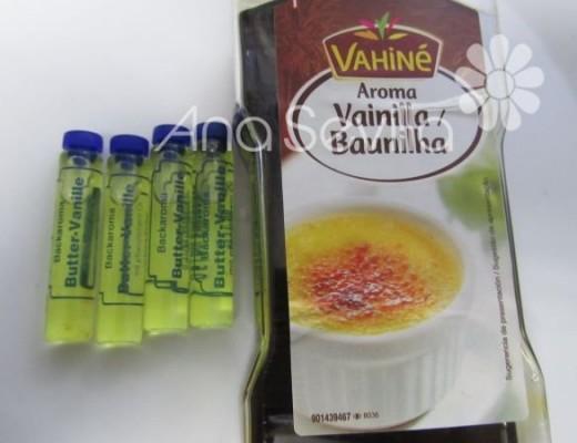Utilizo estos dos aromas juntos, los de butter vanilla son del lidl