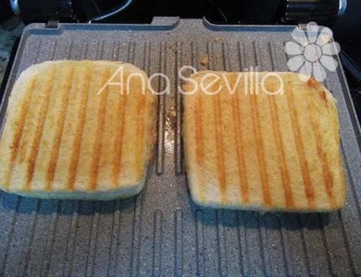 Tostar en una plancha o sandwichera