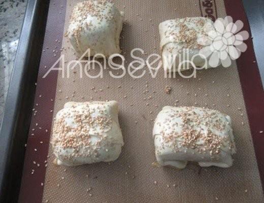En forma de pastelitos