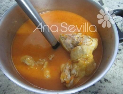 Sopa de arroz con verduras Mambo