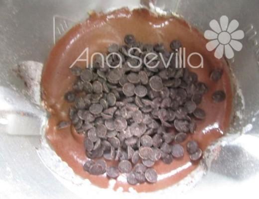 Añadir las gotas de chocolate