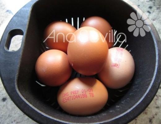 Cocer los huevos en Mambo