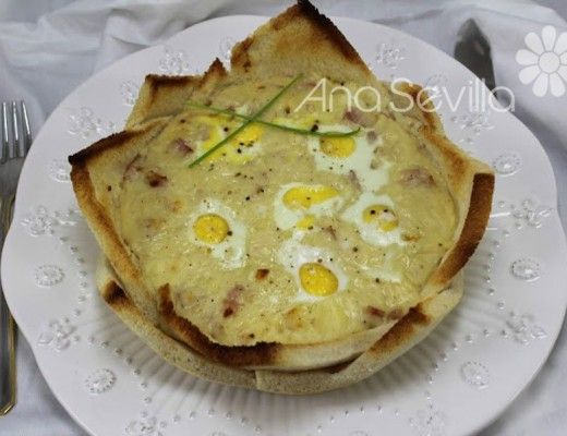 Huevos croque-monsieur